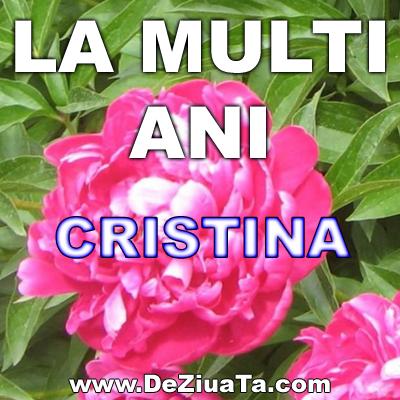 Urari De La Multi Ani >> cristina felicitari de la multi ani text | Poze cu mesaje de LA MULTI ANI